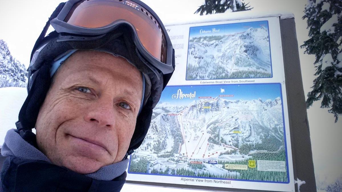 Alpental Selfie sign