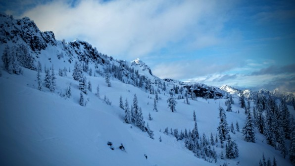 Plenty of powder awaits in the Leavenworth backcountry.