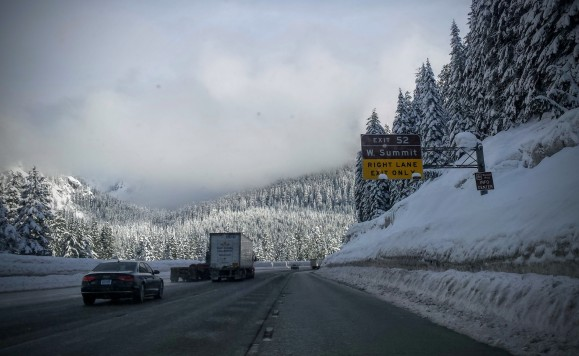 12:20 p.m.: Exiting I-90 for Alpental.