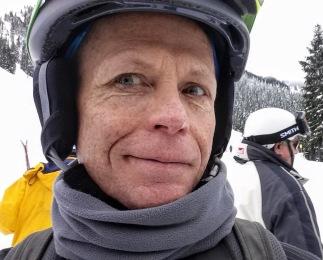 SkiZer at the Stevens Pass base.