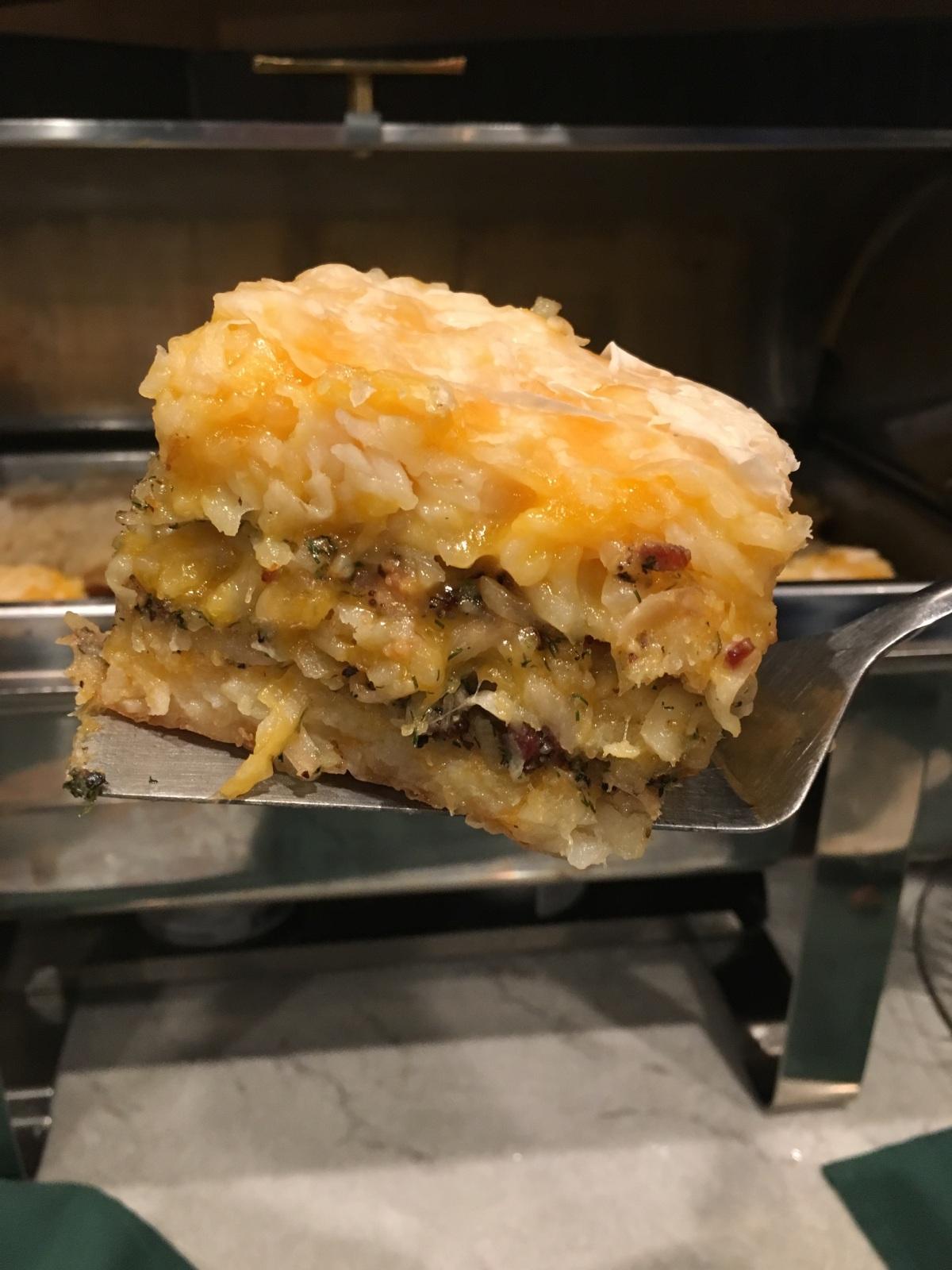hash brown casserole at Alpen Rose Inn